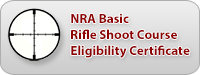 NRA Basic Rifle Shooting Course/Eligibility Certificate